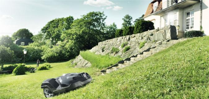 husqvarna automower stihl. Black Bedroom Furniture Sets. Home Design Ideas
